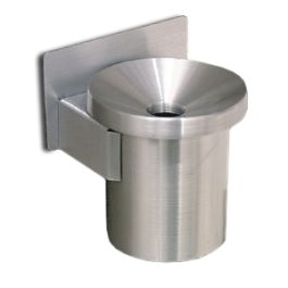Glaro Mini Wall-Mount Ash Urn with Funnel Cover