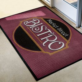 Waterhog 4'W x 8'L Logo Inlay Mat