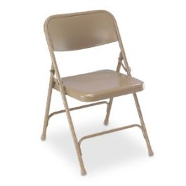 Steel Folding Chair, Set of 4