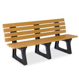 Anova Recycled Plastic 6' Traditional Bench