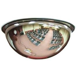 """See All Industries 24"""" Indoor 360 Degree Dome Acrylic Security Mirror"""