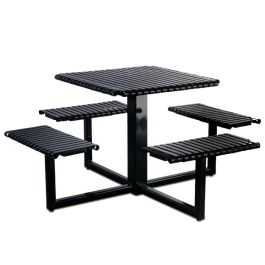 Petersen English Square Steel Table