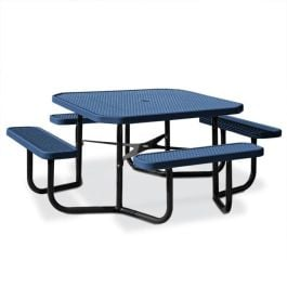 Anova Octagonal Expanded Steel Table, Portable Frame 1401