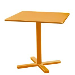 "emu Darwin 32"" Square Tilt-Top Nesting Table with Solid Top, Special Order Colors"