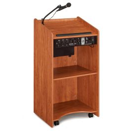 Aristocrat Floor Lectern with PA System