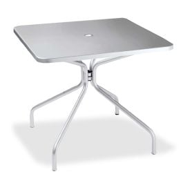 "emu Solid 36"" Square Umbrella Table"