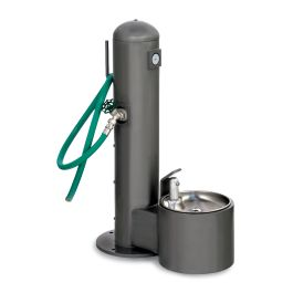 Stern Williams Pet Water Fountain with Hose Bibb and Hose