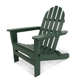 Polywood® Classic Recycled Plastic Folding Adirondack Chair