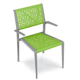Anova Airi Leaf Chair with Armrests