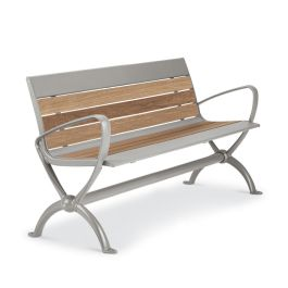 Anova Beacon Hill Thermory  4' Contour Bench