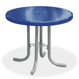 "Anova Streetside 36"" Round Steel Café Table"