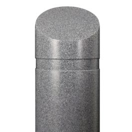 Granite-Look Bollard Cover
