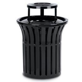 Anova Rendezvous 32 Gallon Trash Receptacle, Bonnet Ash Top