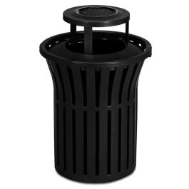 Anova Rendezvous 40 Gallon Trash Receptacle, Bonnet Ash Top