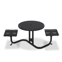 Anova Latitude Bistro Table, 2 Flat Seats