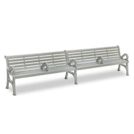Anova Horizon 12' Contour Bench with Divided Seating