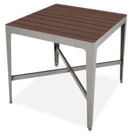 "Anova Mixx 42"" Square Recycled Plastic Counter Height Table"