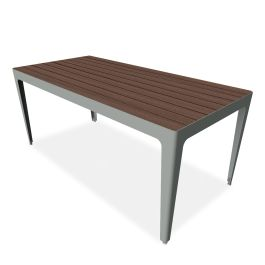 "Anova Mixx 34"" x 72"" Recycled Plastic Table"