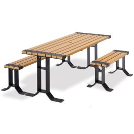 Anova Wainwright 6' ADA Picnic Table and Benches Set