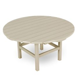 Polywood® Round Recycled Plastic  Conversation Table