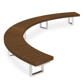 Anova Infinity 2' Curved 12120 Bench, Thermory