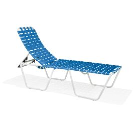 Texacraft Oasis Elevated Crossweave Stacking ADA Chaise Lounge