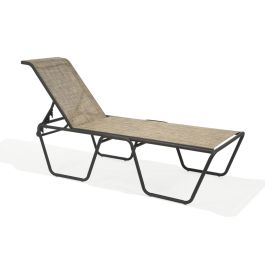 Texacraft Oasis Sling Elevated Stacking ADA Chaise Lounge