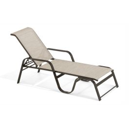 Texacraft Key West Sling Stacking Chaise Lounge