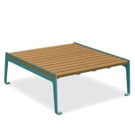 Anova Madison Recycled Plastic Conversation Table