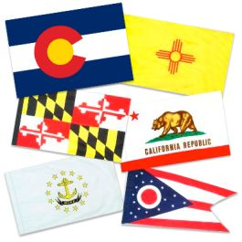 5' x 8' Outdoor State Flag