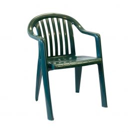 Grosfillex Miami Lowback Stacking Armchair, Case of 4