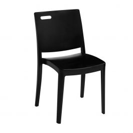 Grosfillex Metro Stacking Chair, Case of 4