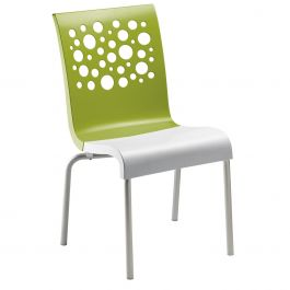 Grosfillex Tempo Stacking Chair, Case of 4
