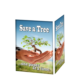 SAVE A TREE ONE PAPER AT A TIME