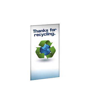THANKS FOR RECYCLING